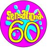 birthday badge 60 years