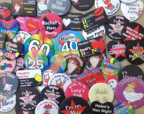 Custom Party Wear Badges