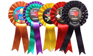 hen party rosettes