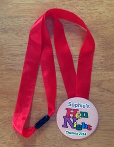 Ribbon Lanyard Badges