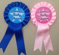 baby shower rosettes