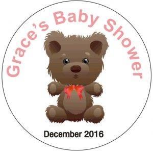 baby shower rosette