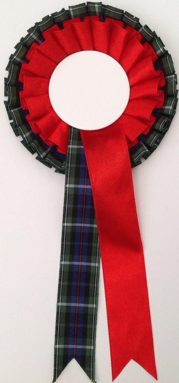 Dual-  tartan & red