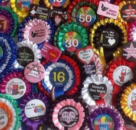 personalised badge ideas
